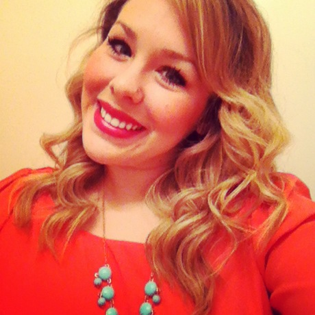 Coral Top with Turquoise Bubble Necklace