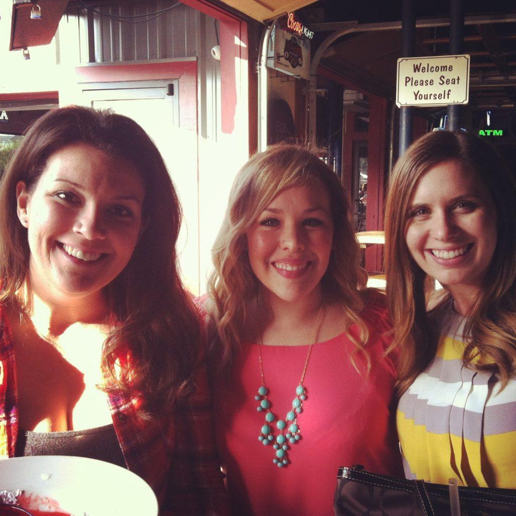 Jen, Me, and Sar