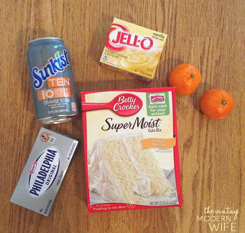 Orange Soda Cake Mix Recipe