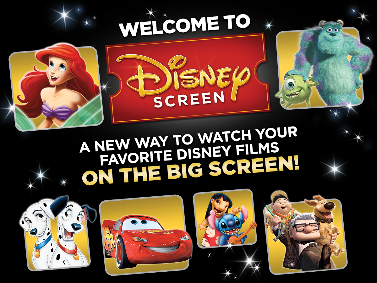 Have you heard about Disney Screen? Disney Screen is a first-of-its-kind membership program and ensures there's always something for families at the movies. It's the perfect family activity! Get the details about Disney Screen here!