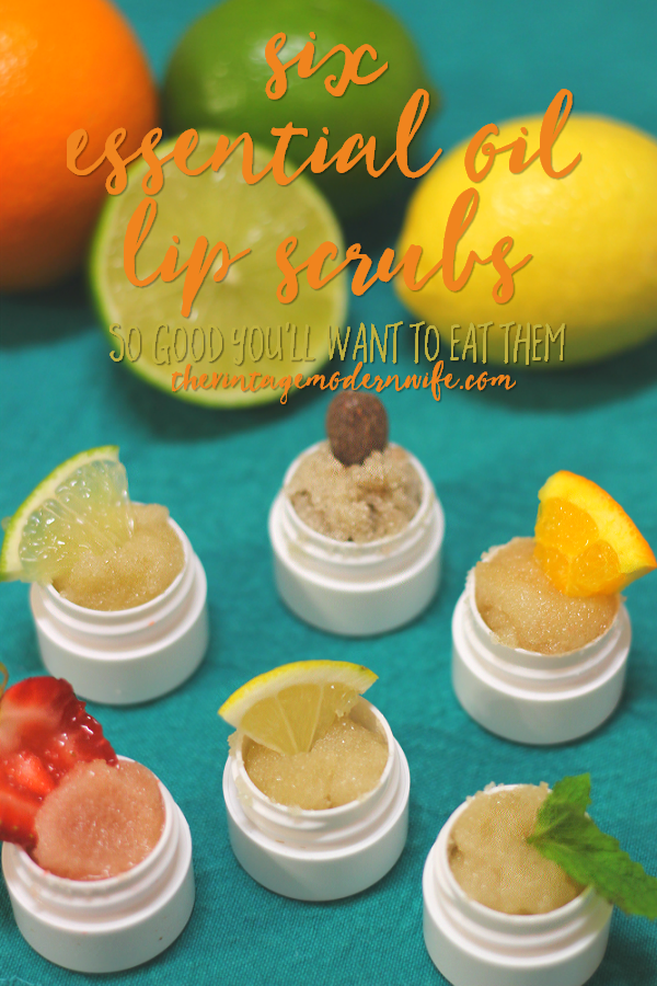 Looking for essential oil lip scrubs? These alcoholic drink inspired scrubs will have your lips wanting more!
