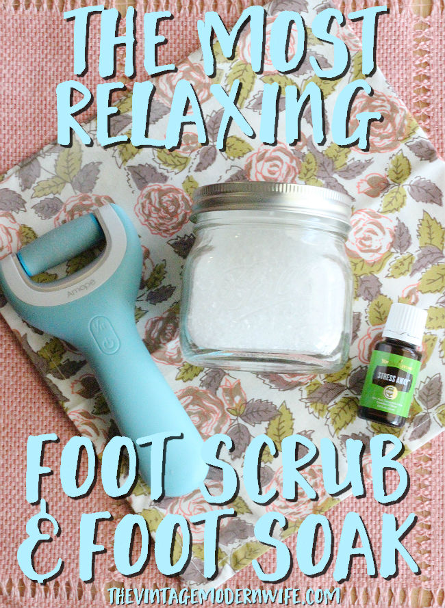 This foot scrub and foot soak are the best I've ever tried! That Amopé™ Pedi Perfect Wet & Dry Rechargeable Foot File made my feet so soft! Definitely will be using this essential oil recipe again!