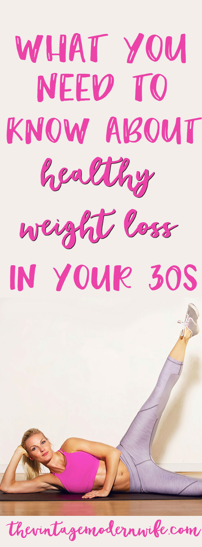 Trying to lose weight? Here's what you need to know about weight loss in your 30s! #ad #getLEAN
