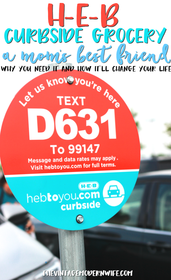 H-E-B Curbside Grocery is a mom's best friend! See how easy it is and how you can get curbside service for FREE! #ad #HEBtoyou