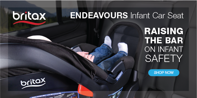 September is car seat safety month and the Britax Endeavours Infant Car Seat is the perfect new car seat for your child. Find a Britax & Lexus Test Drive Parenthood Event near you!