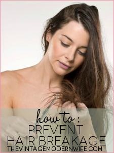 How to Prevent Hair Breakage