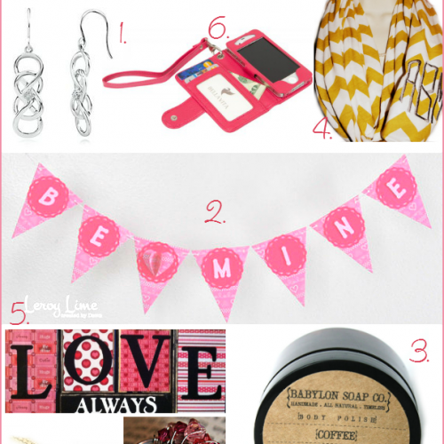 Valentine's Gift Guide 2013 by www.thevintagemodernwife.com