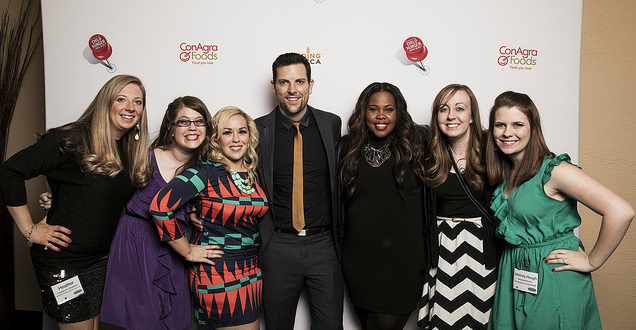 Blissdom GNO with Chris Mann and Amber Riley
