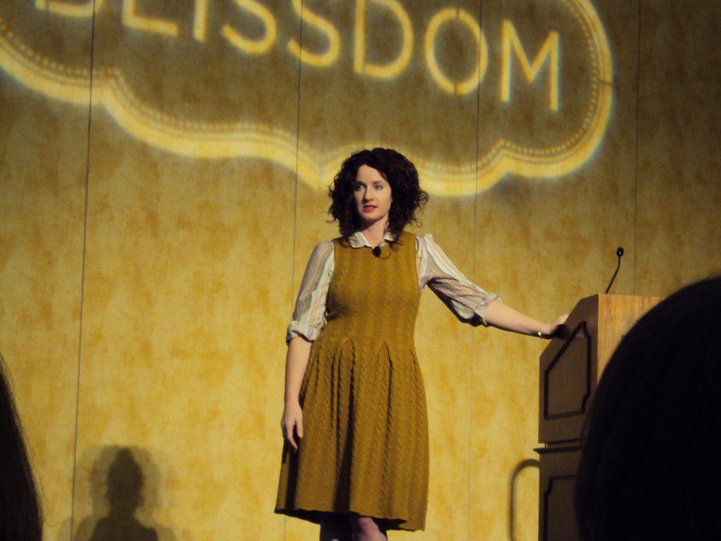 Lisa Leonard at Blissdom 2013