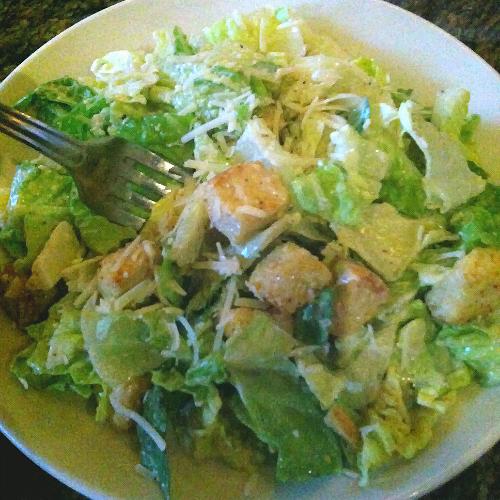 BJ's brewhouse caesar Salad