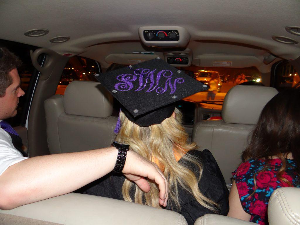 Tarleton Monogram Graduation Cap