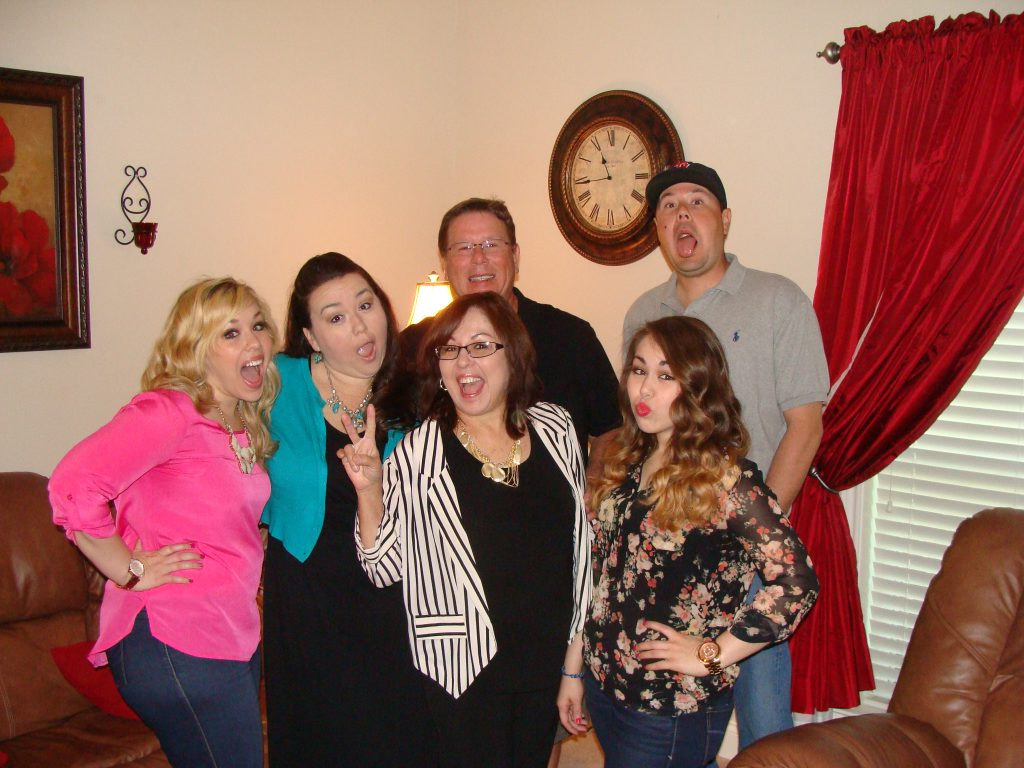the fam just being goofy