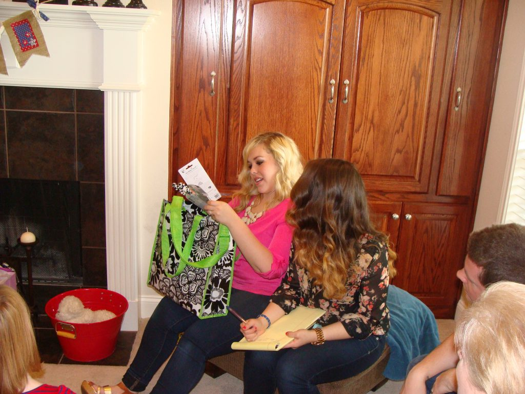 opening graduation gifts