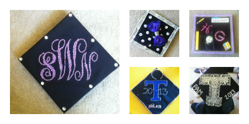 How to Make a Monogram Graduation Cap in Microsoft Word