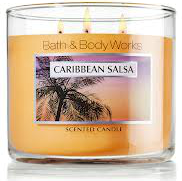 bath and body works caribbean salsa candle