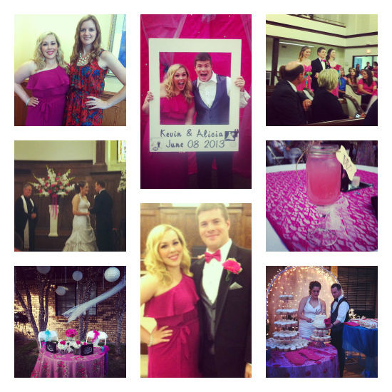 Kevin and Alicia Wolfe wedding