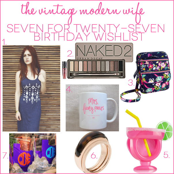 seven for twentyseven