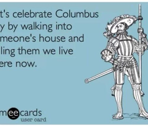 Columbus Day Someecard