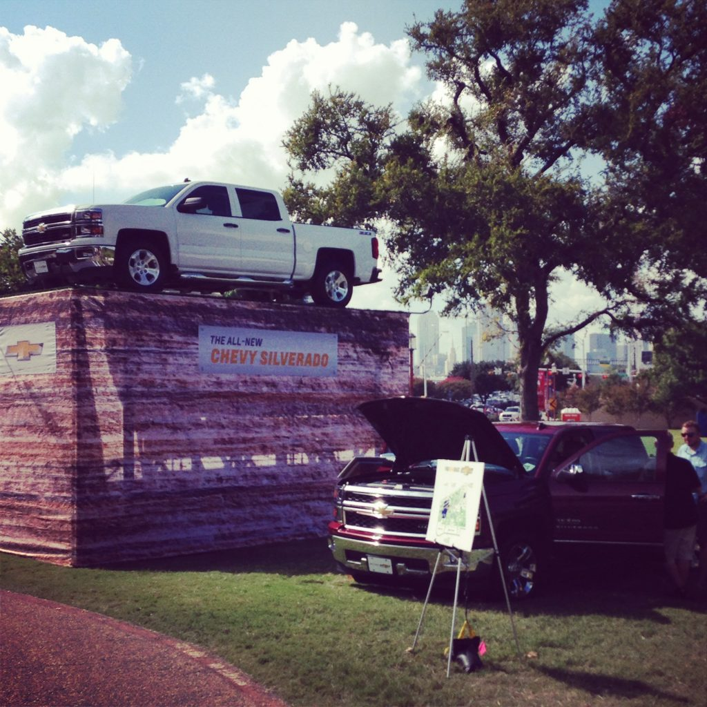 Texas bucket list thing to do: Play around with cars at the State Fair of Texas.