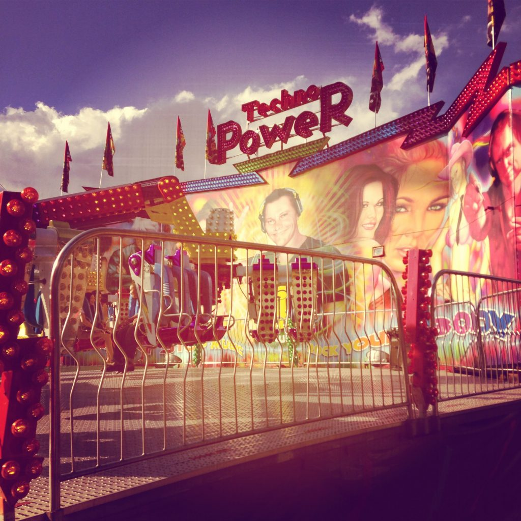 Texas bucket list thing to do: Ride Techno Power at the State Fair of Texas.