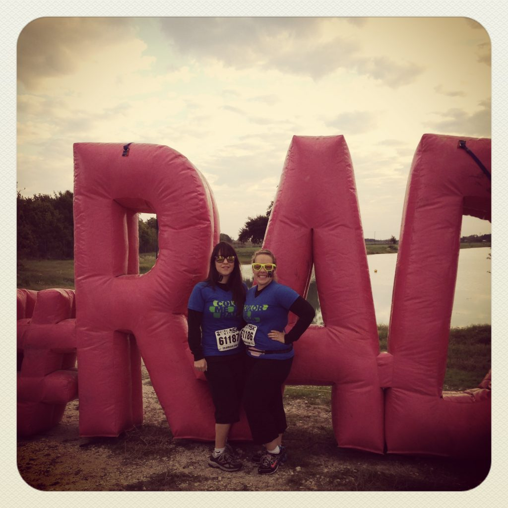 Color Me Rad 5k in Waco, Texas