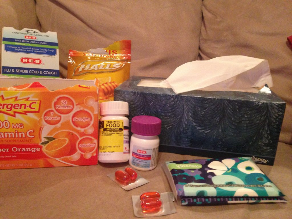 When you mix Texas allergies and being a first year teacher, nothing helps you feel better except for a good box of Kleenex! #kleenexallergies #pmedia