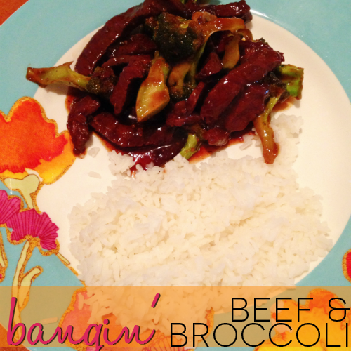 Get your lips smacking for Bangin' Beef and Broccoli. You'll thank me for pinning this.