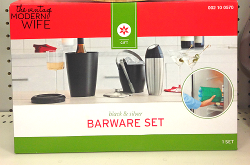 Love this barware set from Target! Perfect for a wedding gift! #beyourselftogether #Targetwedding