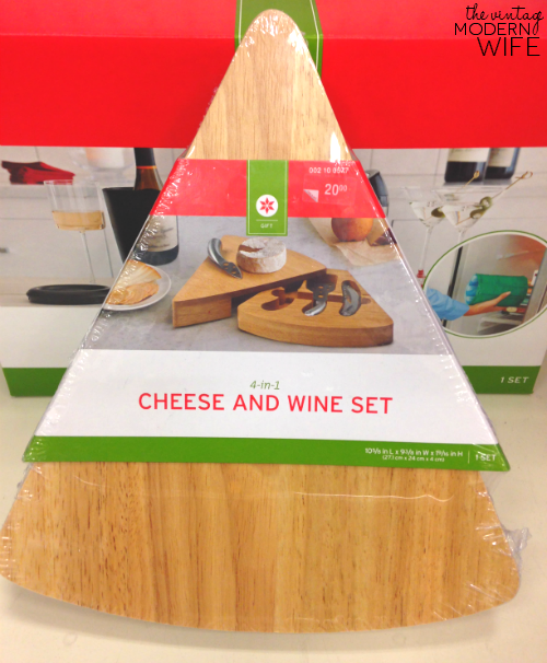 This wine and cheese set is perfect for a bride and groom that love to have people over! #beyourselftogether #Targetwedding