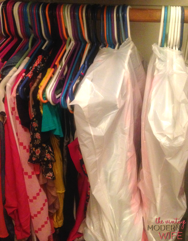 Love this tip on moving clothes with trash bags! Love this tip and all the others on this blog.