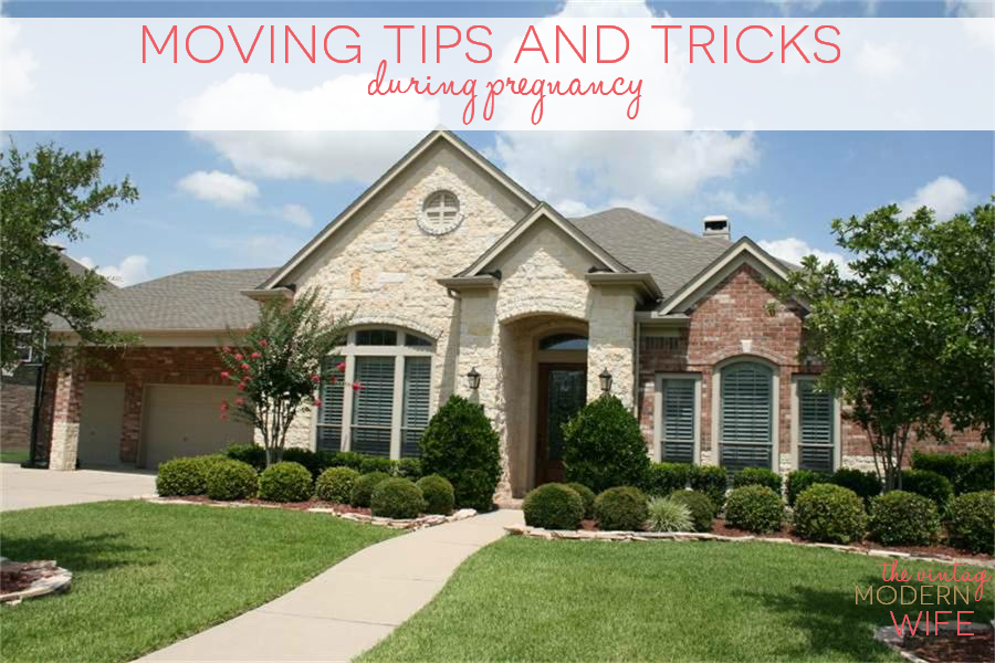 Absolutely love these moving tips and tricks during pregnancy. They helped me so much during our move!