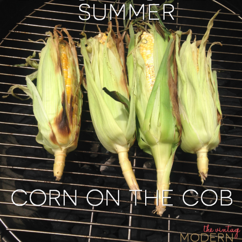 Looking to make perfectly grilled summer corn on the cob? This recipe is SO easy and delicious! I'll never go back!