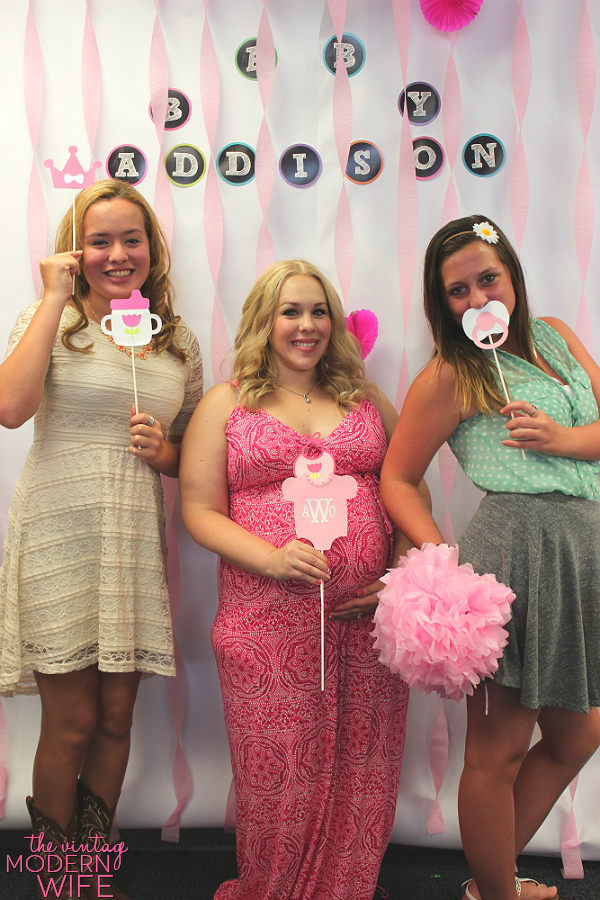 The Best Pink Baby Shower The Vintage Modern Wife