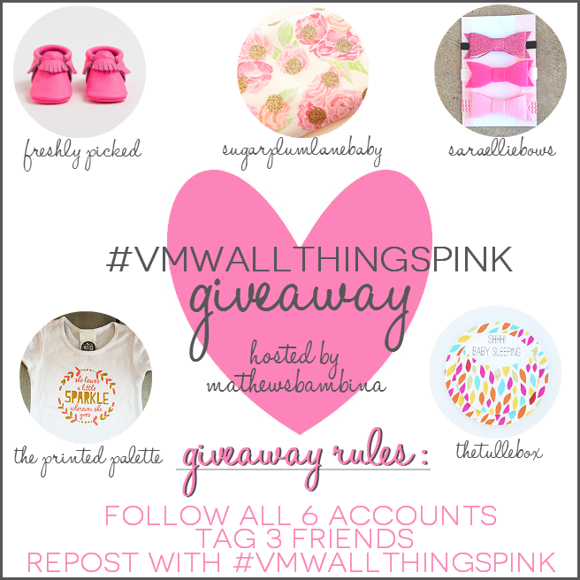 SO excited for the #VMWallthingspink giveaway on The Vintage Modern Wife's blog! I want to win so badly!