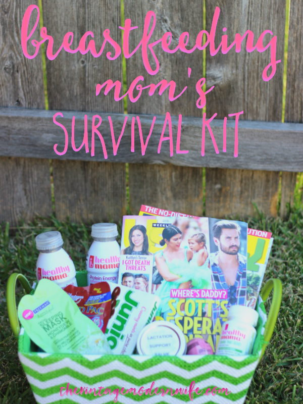 The Breastfeeding Mom's Survival Kit  is perfect for any mom needing a pick-me-up! Perfect for a tired mom needing some relief!