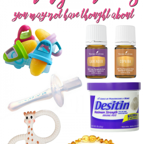 Tried every teething remedy in the book? Try these teething remedies you may not have thought about! Some may surprise you!