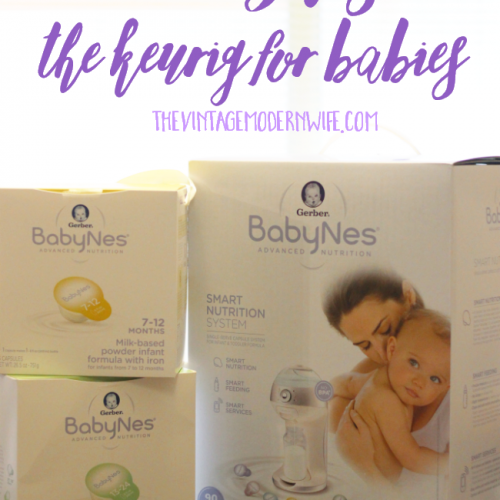 Looking for a way to cut down bottle making time? The BabyNes is a Keurig-type machine for babies and is AMAZING! Definitely perfect for baby registry gifts!