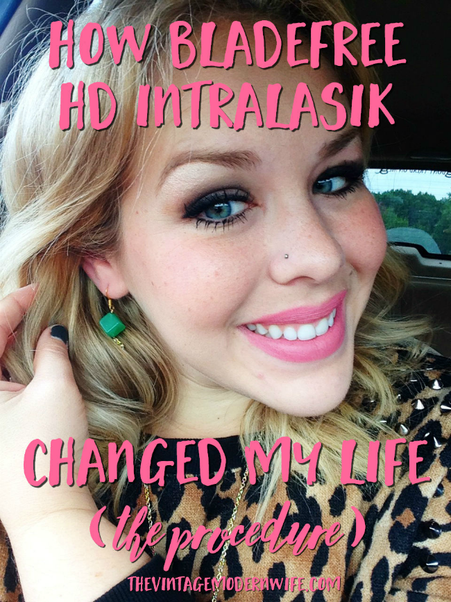 Considering getting LASIK done? Check out how BladeFree HD IntraLASIK changed this woman's life. She documented from the pre-op to the post op!