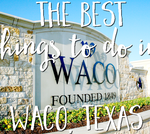 Coming to Waco for the weekend? Check out this blogger's suggestions for the Best Things to do in Waco, Texas! With shopping, restaurant, and attraction suggestions, there's something for everyone in the family! #FromHereForHere