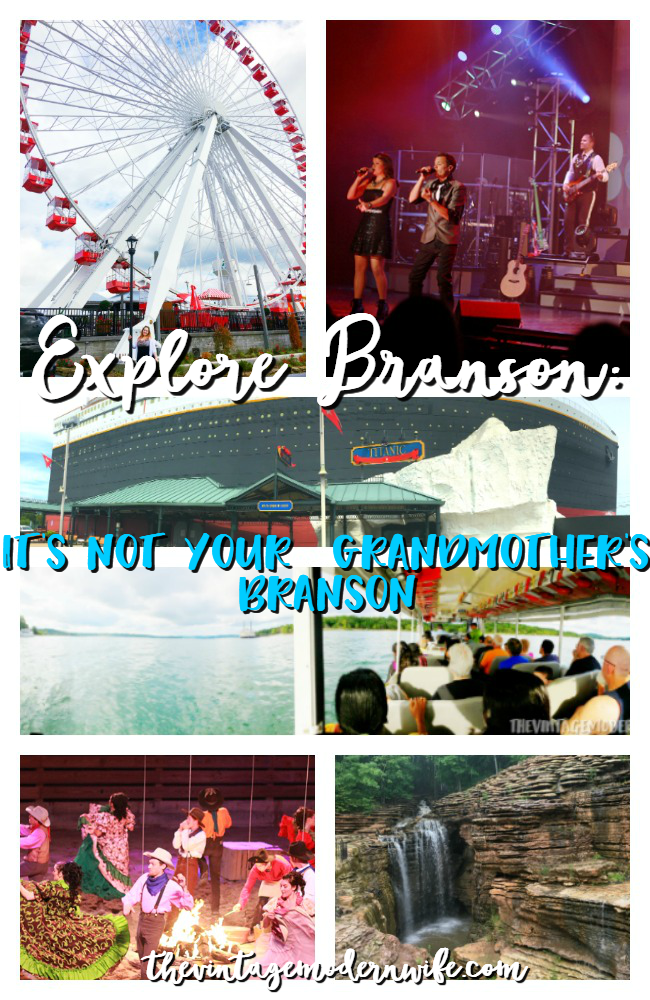 Are you looking to explore Branson? Check out this blogger's experience in how her opinion from thinking Branson would be boring, to one adventurous vacation! See how she discovered that it's not your grandmother's Branson! #ExploreBranson #hosted