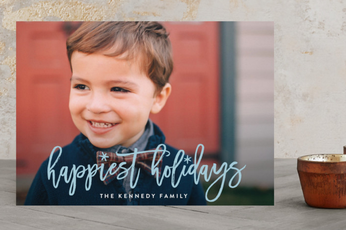 Get help choosing the perfect holiday card with Minted, plus enter to be one of two winners to receive $125 towards holiday cards of your own!