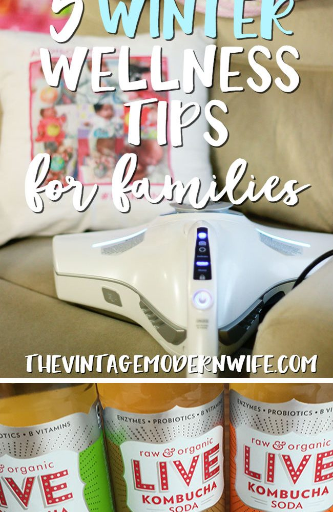 Trying to stay healthy this winter? Check out these 5 Winter Wellness Tips for Families. So many amazing ideas that I never would have thought of before!