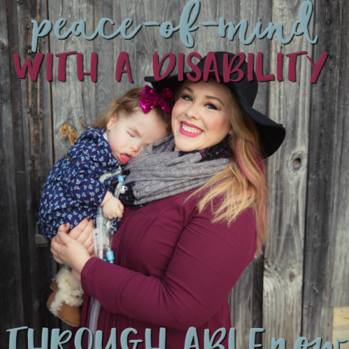 Have you heard about ABLEnow? If you have a loved one with a disability, definitely read this!