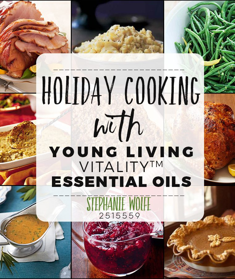 Interested in tying in some Young Living Vitality oils into your holiday recipes? Don't miss this set of delicious recipes all using Young Living oils! Yum!