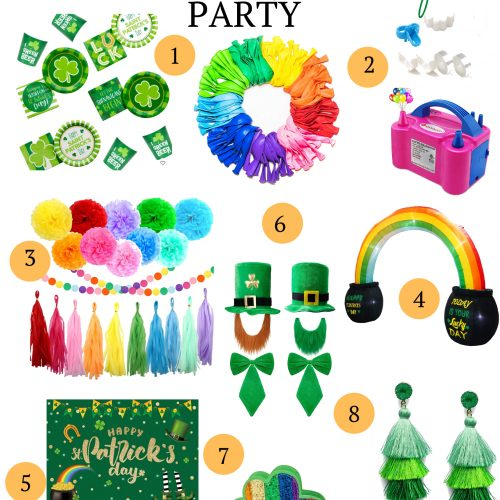 Looking to have the pinterest perfect St. Patrick's Day Party? These party must haves are right on point!
