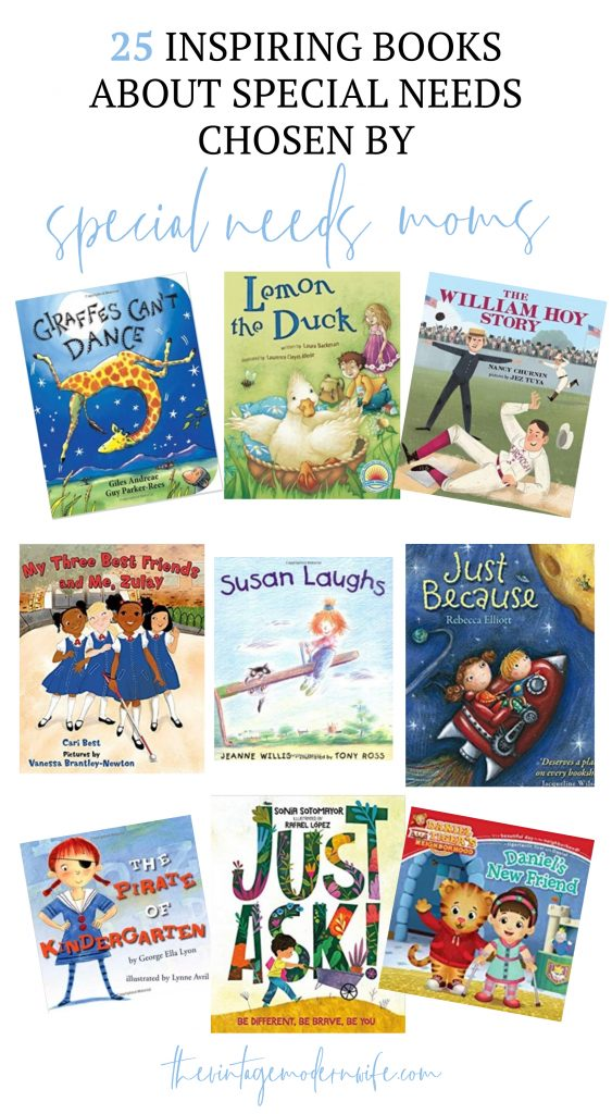 This collection of books about special needs is incredible! This comprehensive list has books for all ages and covers many different disabilities!