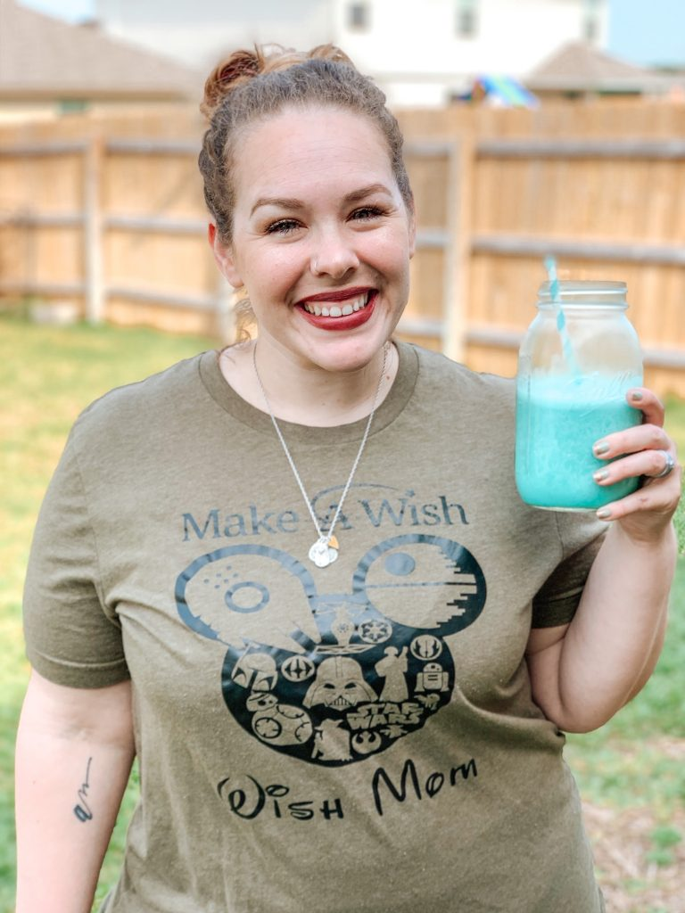 Searching for the legit Tatooine Blue Milk recipe? Look no further than this recipe. It'll take you to the Dark Side all the way back to the Light Side!