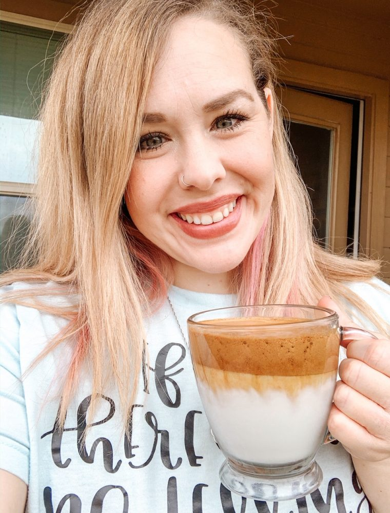 Heard all about the viral trend of Dalgona Coffee but not tried it because you're doing keto or low carb? Try this delicious Keto Dalgona Coffee recipe!