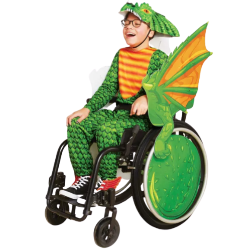 Looking for adaptive halloween costumes and wheelchair covers? Don't miss this inclusive post of the best adaptive halloween costumes online!