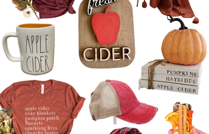 Fun Etsy Finds for the Apple Cider Fan